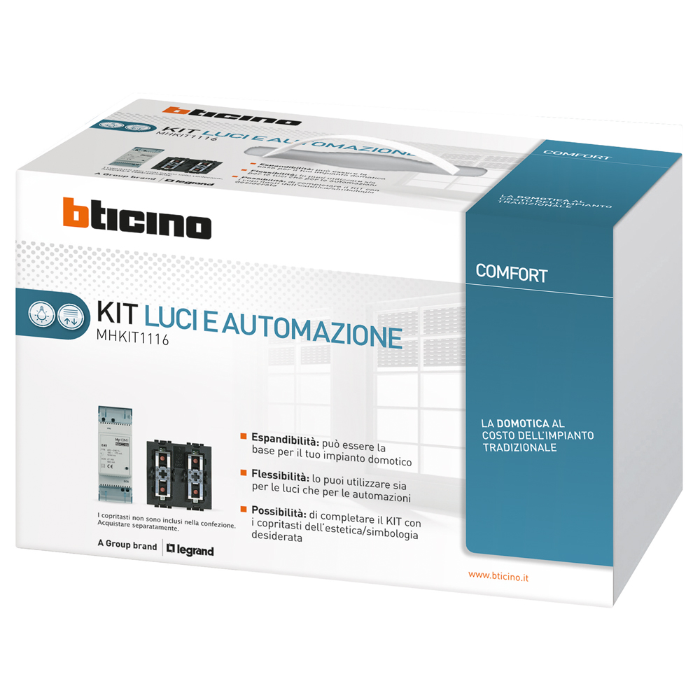 My home kit for Apple homekit bticino